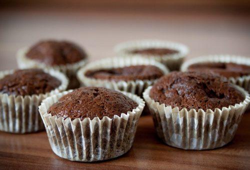Vegan Muffin Βρώμης Κακάο